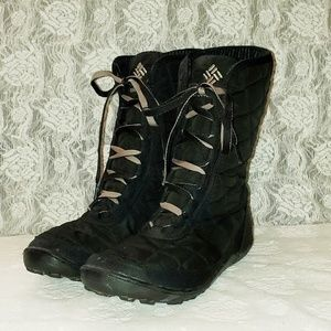 COLUMBIA quilted boots